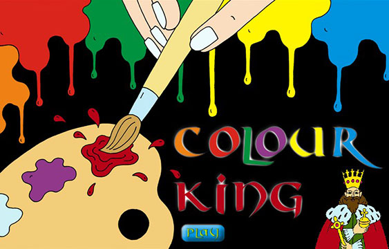 Hra COLOUR KING